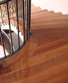 Brushbox Stair Treads