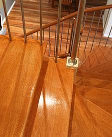 Maple or Meranti Stair Treads