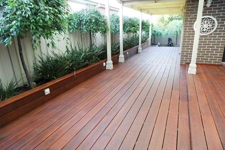 Hardwood Decking And Screening Sydney Australia