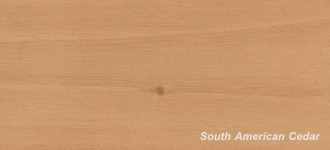 More about South American Cedar